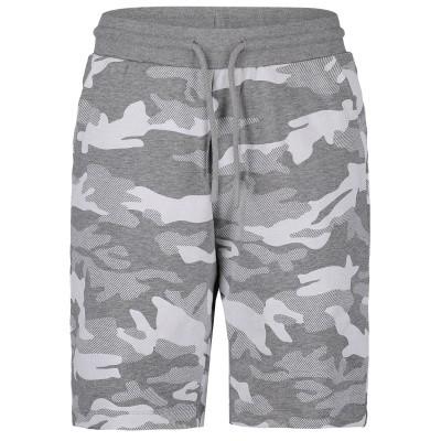 Picture of Antony Morato MKFP00162 kids shorts grey