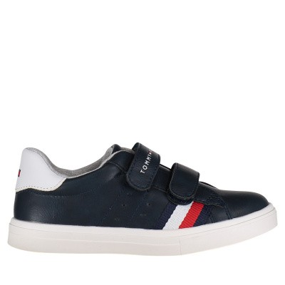Picture of Tommy Hilfiger 30303 kids sneakers navy