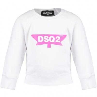 Afbeelding van Dsquared2 DQ02XL baby trui wit