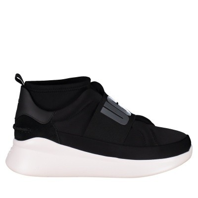 Picture of Ugg 1095097 womens sneakers black