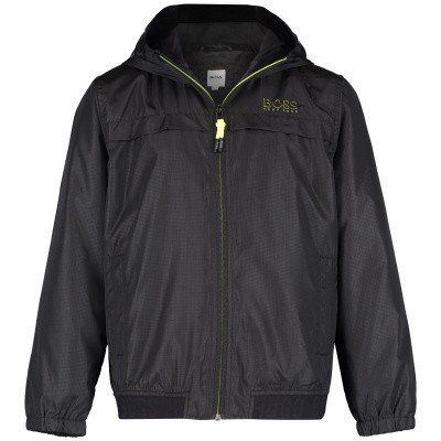 Picture of Boss J26369 kids jacket black