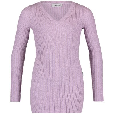 Picture of Reinders VES19G051L kids sweater lilac