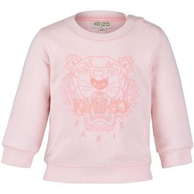 Afbeelding van Kenzo KM15238BB baby trui licht roze