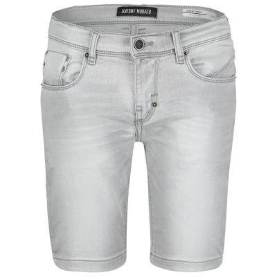 Afbeelding van Antony Morato MKDS00016 kinder shorts licht grijs