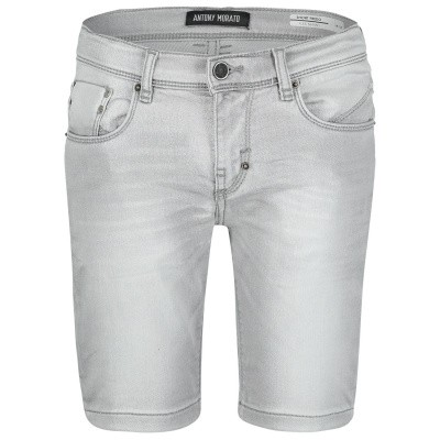 Picture of Antony Morato MKDS00016 kids shorts light gray
