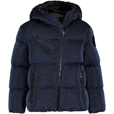 Picture of Moncler 4688205 kids jacket navy