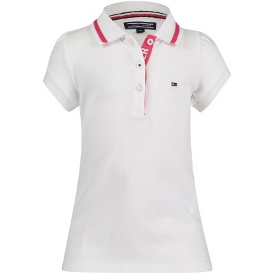 Afbeelding van Tommy Hilfiger KG0KG03601 B baby polo wit