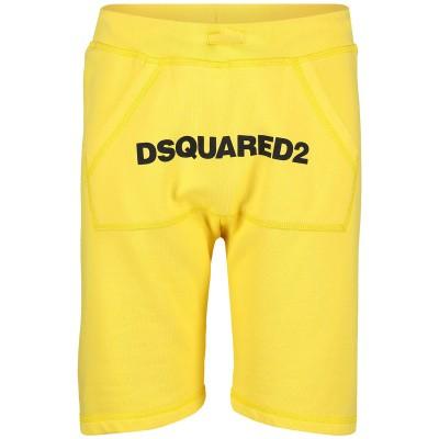 Afbeelding van Dsquared2 DQ03B1 kinder shorts geel