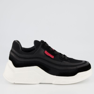 Afbeelding van CERO NINE FORT H-213 unisex sneakers zwart