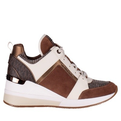 Picture of Michael Kors 43F8GEFS1S womens sneakers camel