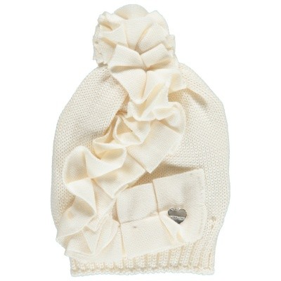 Picture of MonnaLisa 172006 kids hat off white