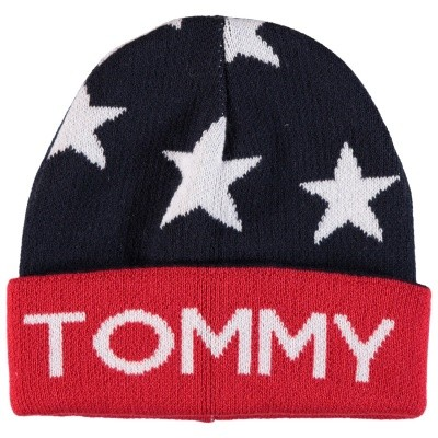 Picture of Tommy Hilfiger AUOAU00310 kids hat navy
