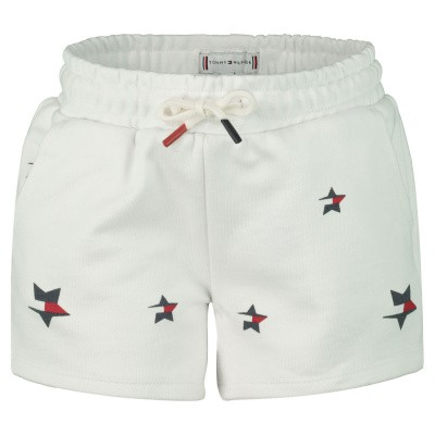 Picture of Tommy Hilfiger KG0KG04347 B baby shorts white