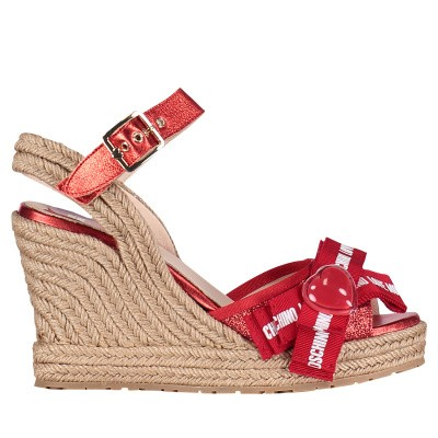 Picture of Moschino JA1631 womens sandals red
