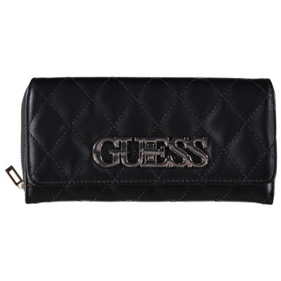 Picture of Guess SWVG7175620 womens wallet black