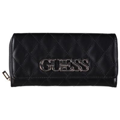 Afbeelding van Guess SWVG7175620 dames portemonnee zwart
