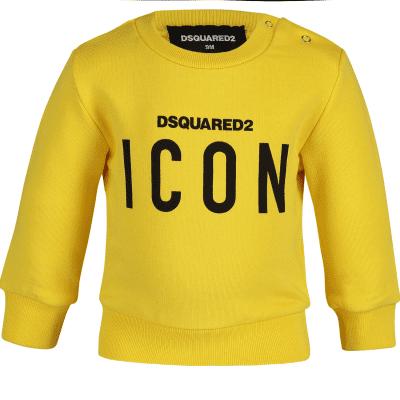 Afbeelding van Dsquared2 DQ03G3 baby trui geel
