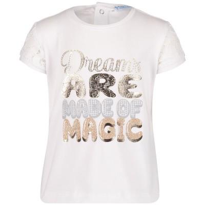 Afbeelding van Mayoral 1009 baby t-shirt wit