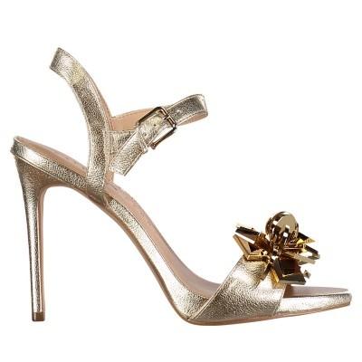 Afbeelding van Katy Perry KP0564 dames sandalen goud