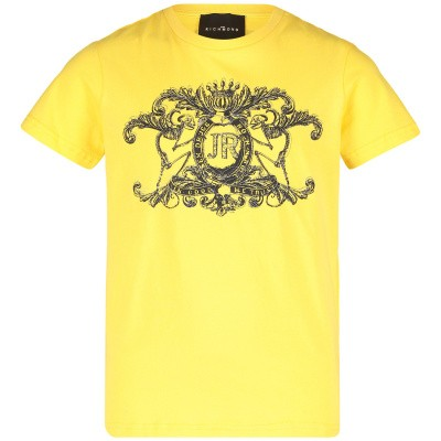 Picture of John Richmond RBP19163 kids t-shirt yellow