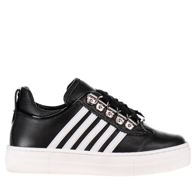 Picture of Dsquared2 57124 kids sneakers black