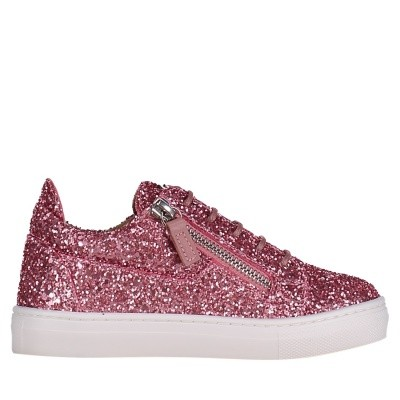 Picture of Guiseppe Zanotti SBE8101/8401 kids sneakers light pink