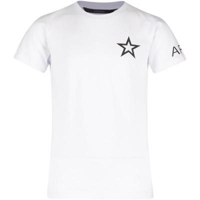 Afbeelding van Airforce B0511 kinder t-shirt wit