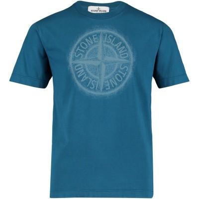 Afbeelding van Stone Island 691621054 kinder t-shirt blauw