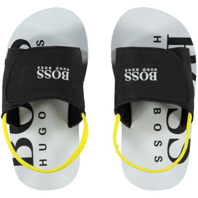 Picture of Boss J09110 kids flipflops black