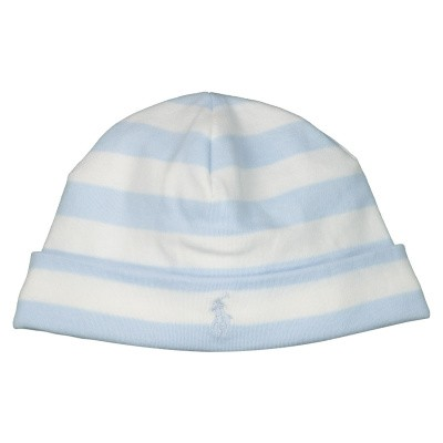 Picture of Ralph Lauren 735055 baby hat light blue