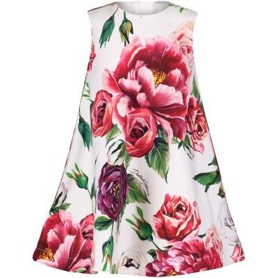 Afbeelding van Dolce & Gabbana L2JDZ0 G7OSI baby jurkje donker roze