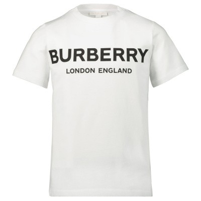 Picture of Burberry 8009235 kids t-shirt white