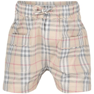 Picture of Burberry 8009237 baby shorts beige