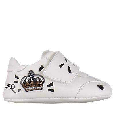 Afbeelding van Dolce & Gabbana DK0104 babyschoenen wit