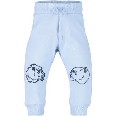 Picture of Kenzo KM23527 baby pants light blue