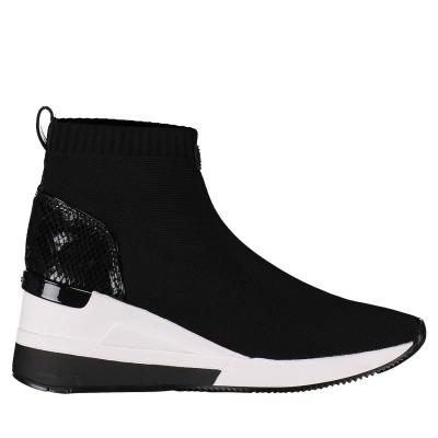 Afbeelding van Michael Kors 43T8SKFE6D dames sneakers zwart