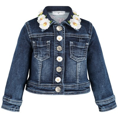 Picture of MonnaLisa 393100R4 baby coat jeans