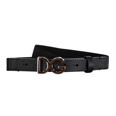 Afbeelding van Dolce & Gabbana EC0060 kinderriem zwart