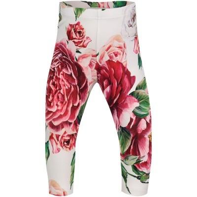 Afbeelding van Dolce & Gabbana L2JP4D G7OSH baby legging donker roze