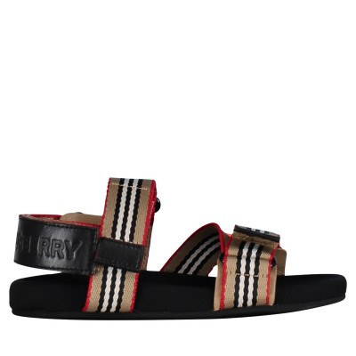Picture of Burberry 8010652 kids sandals beige