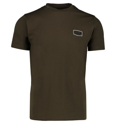 Picture of My Brand MMBTS0032 mens t-shirt army