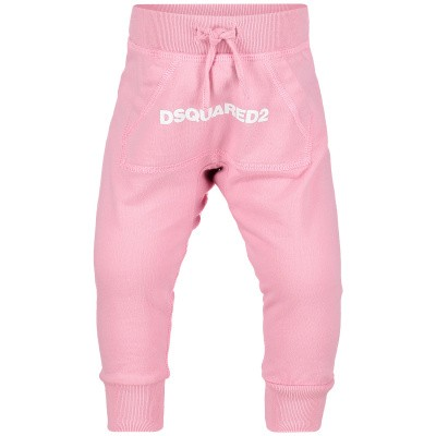 Picture of Dsquared2 DQ031M baby pants light pink