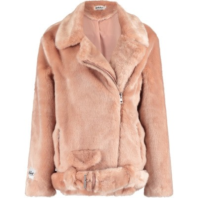 Picture of Jakke ASHLEY BIKER womens coat light pink