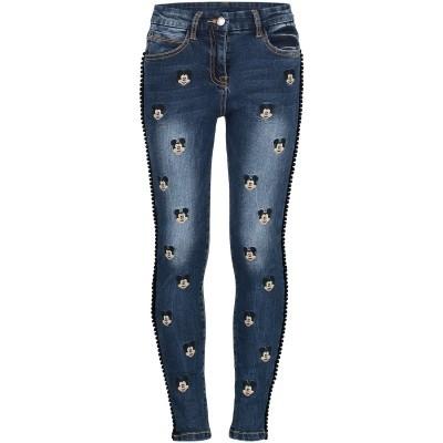 Afbeelding van MonnaLisa 192403R4 kinderbroek jeans