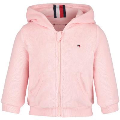 Picture of Tommy Hilfiger KN0KN00974G baby vest light pink