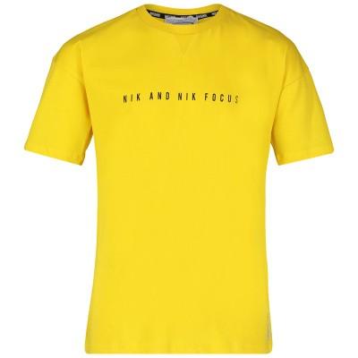 Afbeelding van NIK&NIK B8813 kinder t-shirt geel