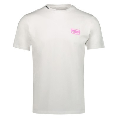 Picture of My Brand MMBTS0032 mens t-shirt fluoro pink