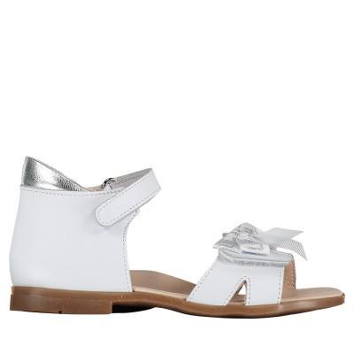 Picture of Liu Jo L1A2 20385 kids sandals white
