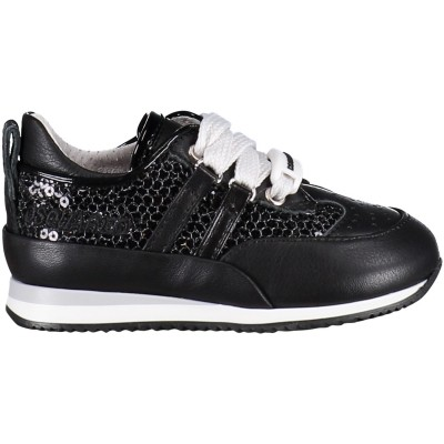 Afbeelding van Dsquared2 54055 kindersneakers zwart