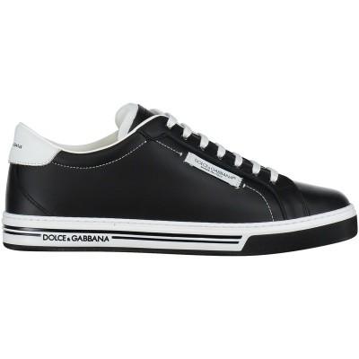 Afbeelding van Dolce & Gabbana DA0626 kindersneakers zwart